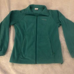 Teal Columbia jacket size small